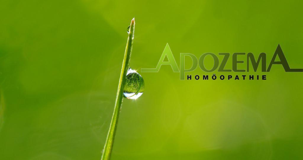 Apozema Homöopathie