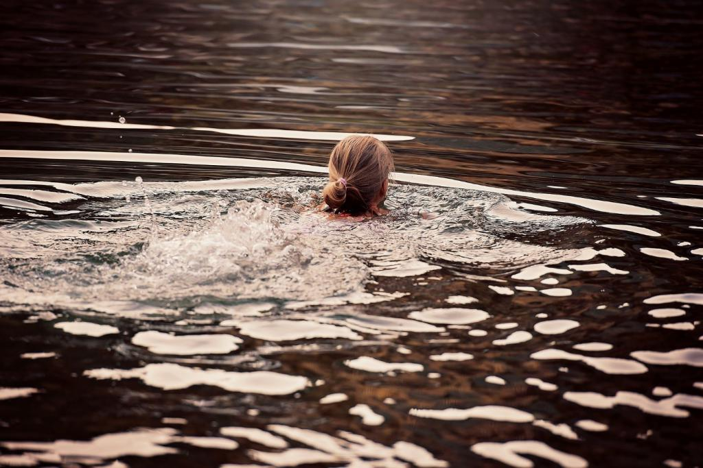 Sport im Sommer: Schwimmen