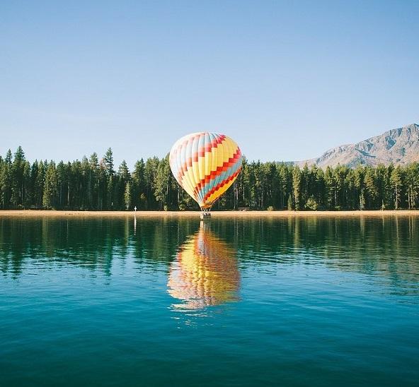 eine unvergessliche fahrt mit dem heißluftballon