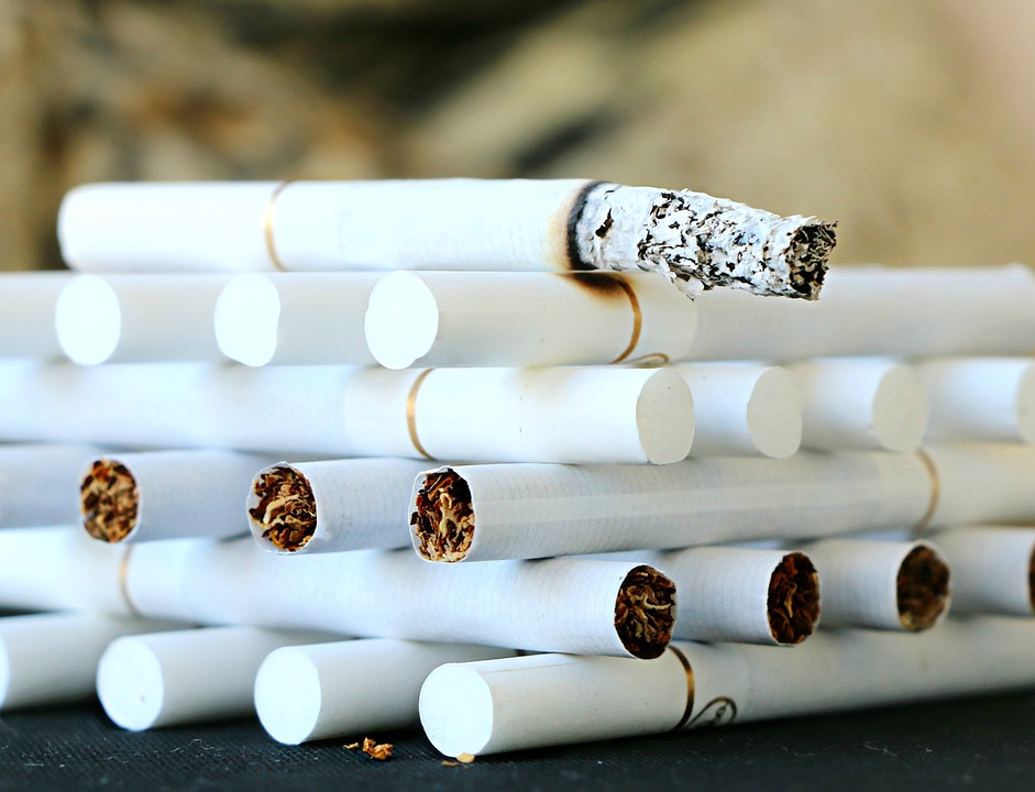 Zigarettenstapel