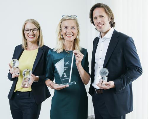 Apomedica Geschäftsführung anlässlich de IQVIA OTC Mirror Awards 2020