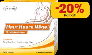 Produkt des Monats Februar 2021: Dr. Böhm® Haut Haare Nägel