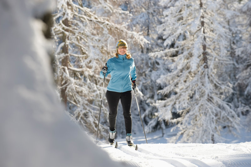 Langlaufen, eine gesunde Wintersportart