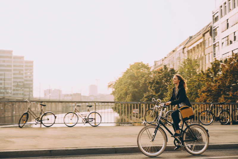 Radfahren ist gut für Körper und Umwelt