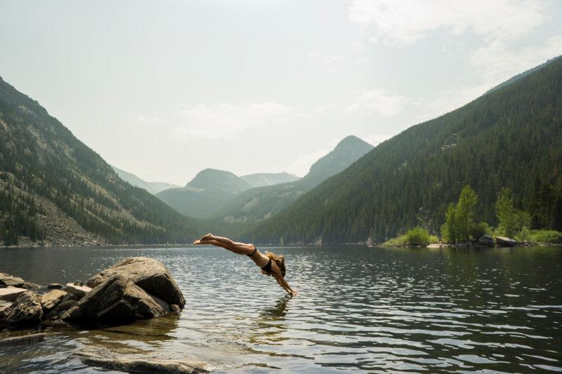 Schwimmen ist eine gelenkschonenende sportliche Betätigung
