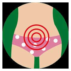 Schmerzen und Krämpfe im unteren Bauchbereich
