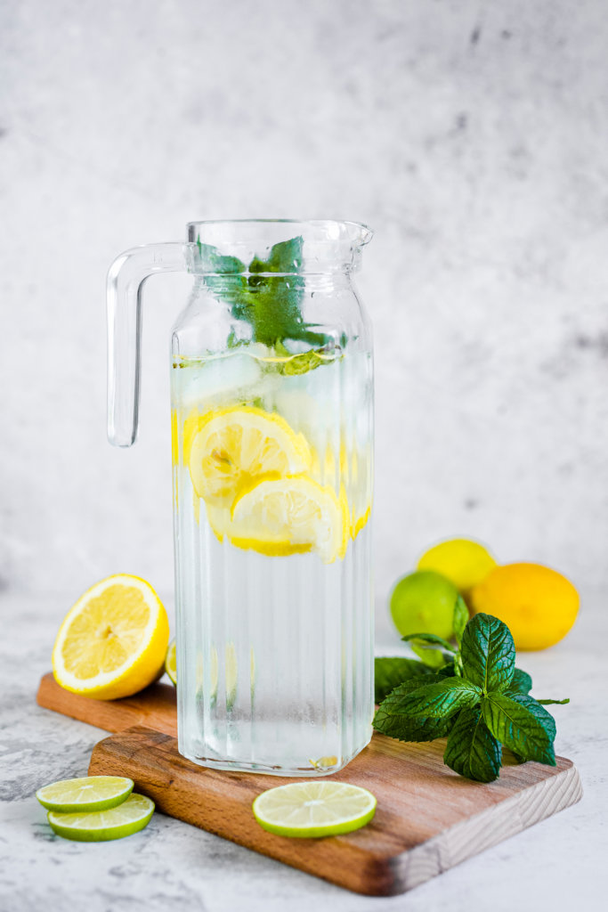 Tipps bei Blasenentzündungen - viel Trinken