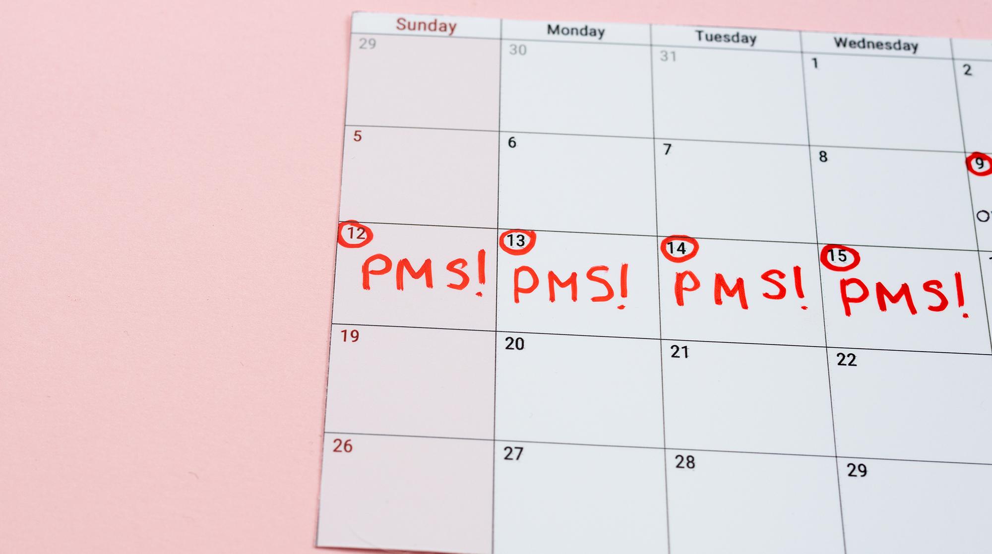Prämenstruelles Syndrom - PMS